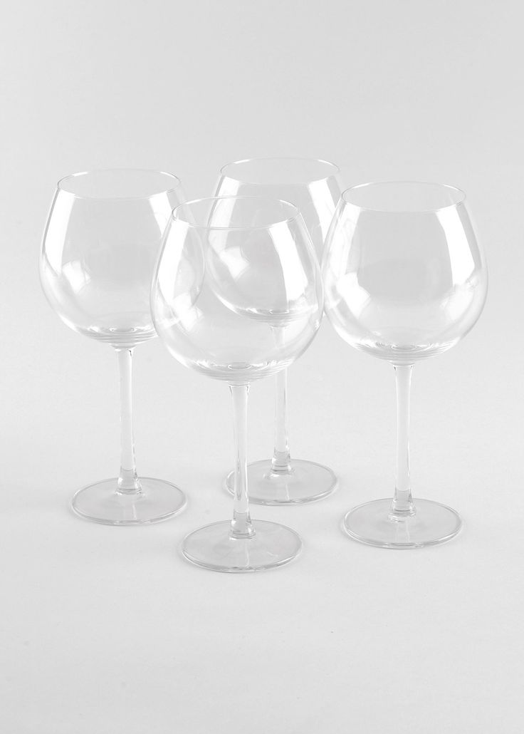 4 Pack Oslo Wine Glasses 58cl (21.2cm)