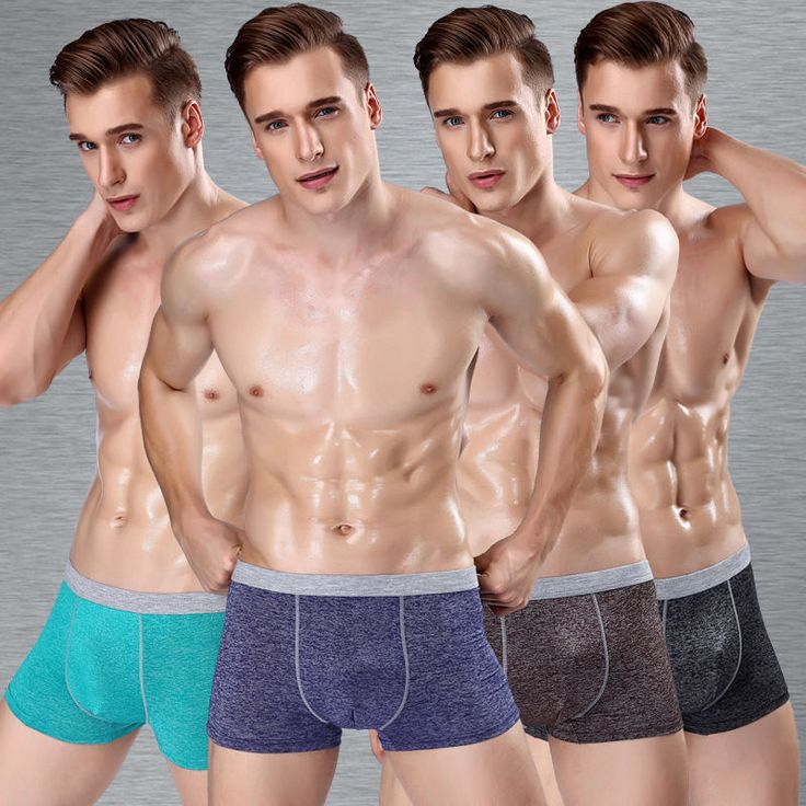 Mens Sheer Boxers Fashion Men Underwear Slip Homme Coton Cuecas Boxers 10pcs Lot #Unbranded #BoxerBrief