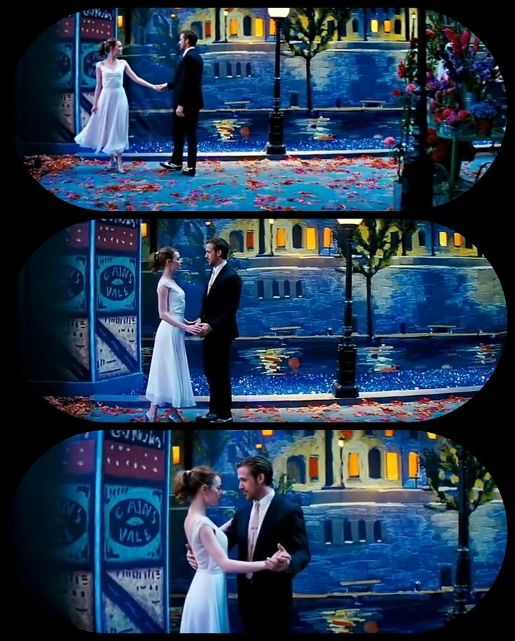 La La Land. Romantic. Love. Dance. Paris. Ryan Gosling and Emma Stone.