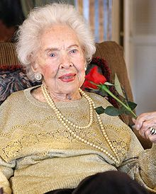 Doris Eaton Travis, former Ziegfield Girl who earned a university degree at 88, danced on Broadway in her nineties, and died in 2010 at the age of 106
