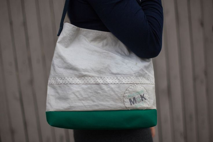 Recycled Sail Cloth Purse by Arborandiron on Etsy https://www.etsy.com/listing/472887968/recycled-sail-cloth-purse