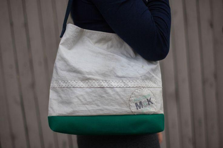 Recycled Sail Cloth Purse by Arborandiron on Etsy https://www.etsy.com/listing/472887968/recycled-sail-cloth-purse