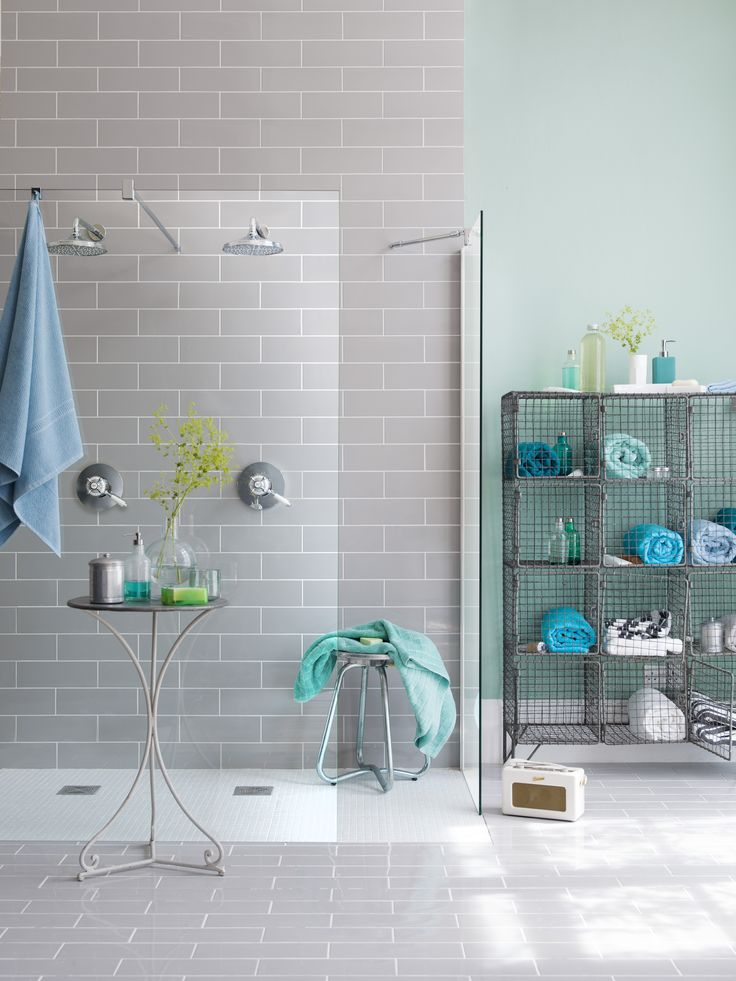two's company in this super stylish scandanavian wet room shower from the wet room specialist www.impeyshowers.com
