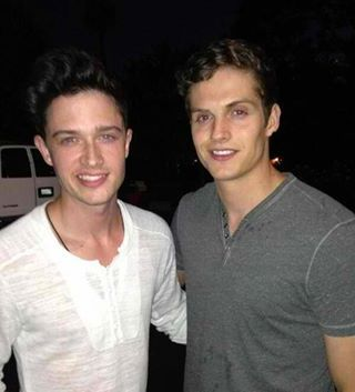Together with Michael Fjordbak (Young Peter Hale)