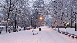 Obrazki z mojej dzielnicy.: Zima zawitała do Torunia ...