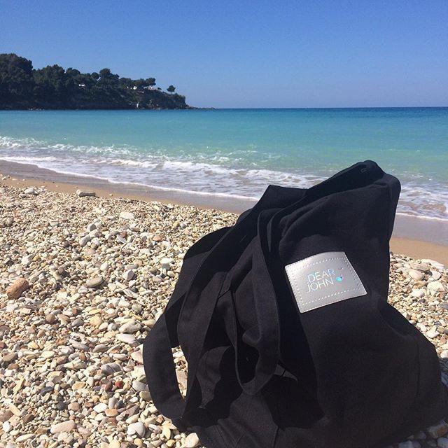 The best beach tote bag is our Mr Big☀️💕🌊 #dearjohn_pl #dearjohn #totebag…