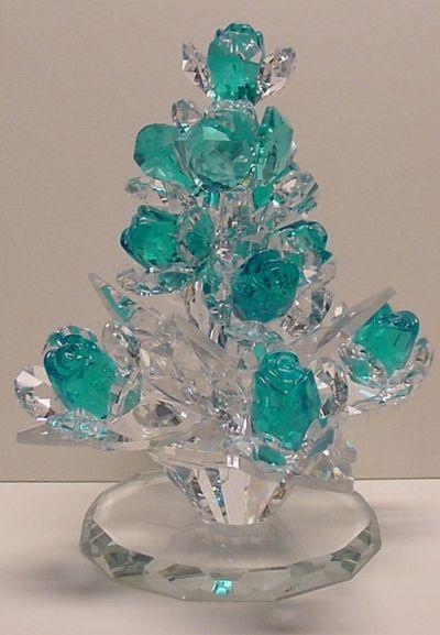 Crystal Rose Tree.