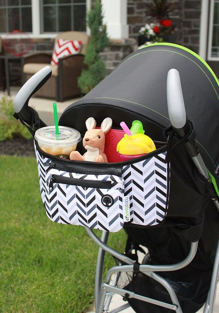 Stroller accessories can help make life easier when you're out with the baby. Check out these must haves that we recommend