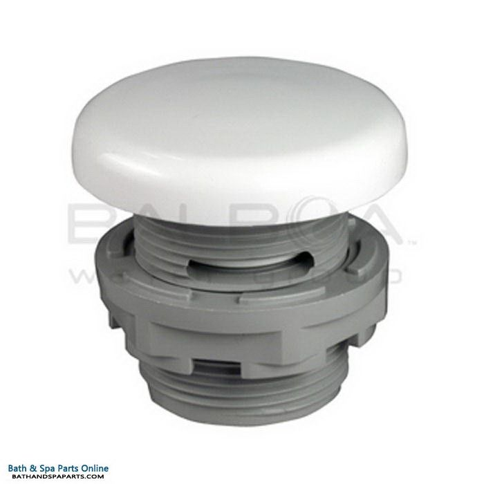 "Balboa Spa Air Control Knob 1"" Under-Skirt [White] (13562-WH)"