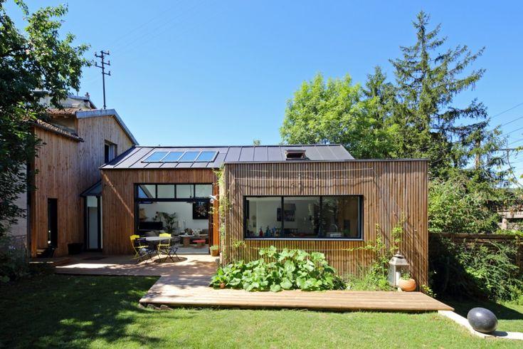 Extension en bois BBC à Sèvres (2013) - T design architecture