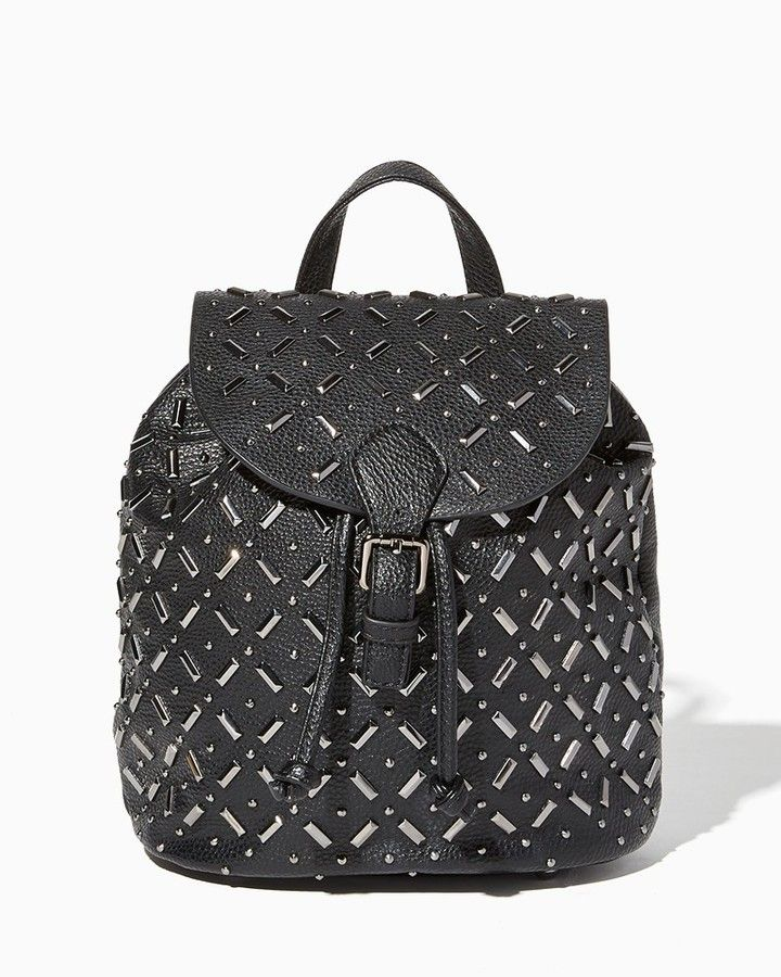 Charming charlie Sienna Studded Backpack