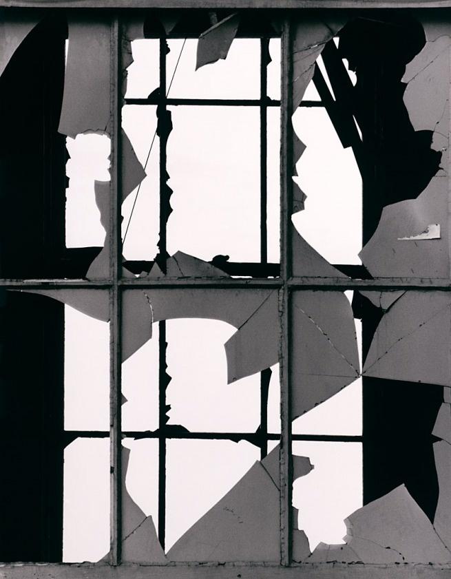 Brett Weston (American, 1911-1993) Broken Window ca. 1970 Gelatin silver print