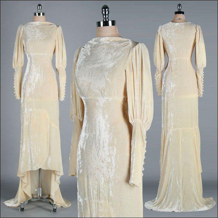 295 best Vintage Wedding Dresses images on Pinterest | Vintage ...