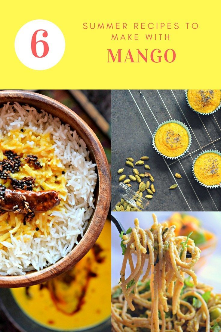Delicious Summer Recipes To Make With Mango - Summer is here & so are mangoes. Here is a compilation of delicious & innovative recipes to make using a mango that will keep you refreshed & satisfied.