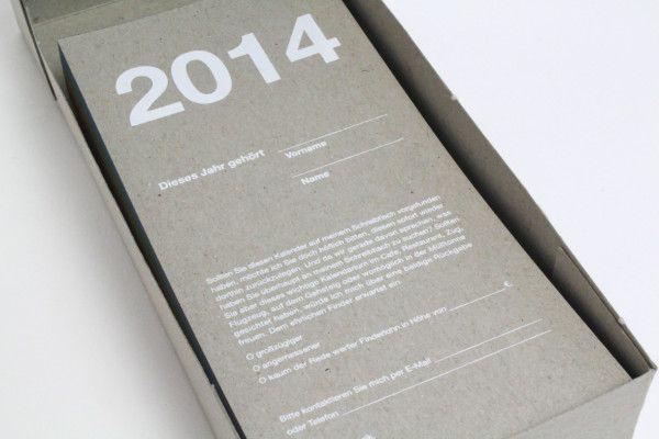 2014 – Das Jahr als Formular – Auch dieses Mal will Systemform Datenbelege seine Kunden nicht ohne den passenden Vordruck in das Neue Jahr entlassen. Tagtäglich steht ein ...