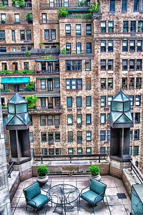 NYC. Nice Roof Terrace