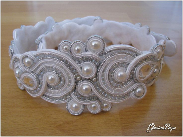 belt soutache wedding dress by ~GosiaBizu on deviantART