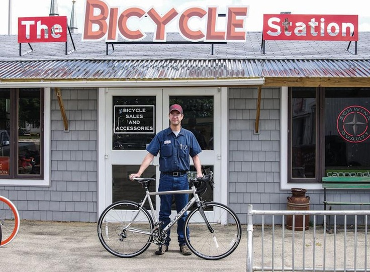 Chad Jensen recommends a bicycle such as the Cannondale Synapse for those considering long-distance riding. / Clinton Herald