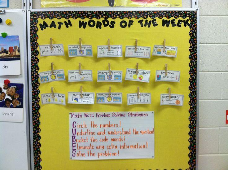 Classroom Design For Grade 7 ~ Ell math vocabulary teaching treats pinterest