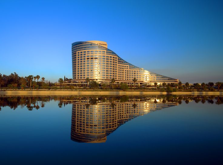Discover Adana in comfort and international style at the elegant and instantly iconic S-shaped Sheraton Adana Hotel Set on the banks of the Seyhan River.