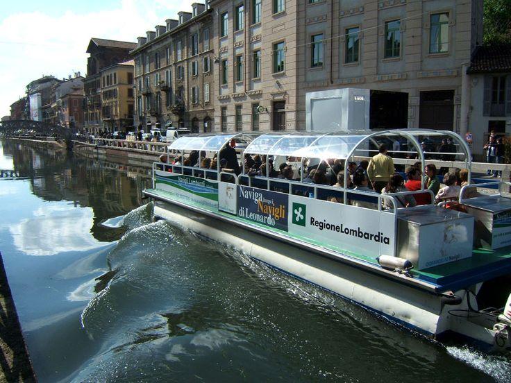 Navigare i #Navigli per scoprire la città di #Milano e la bellezza del territorio!