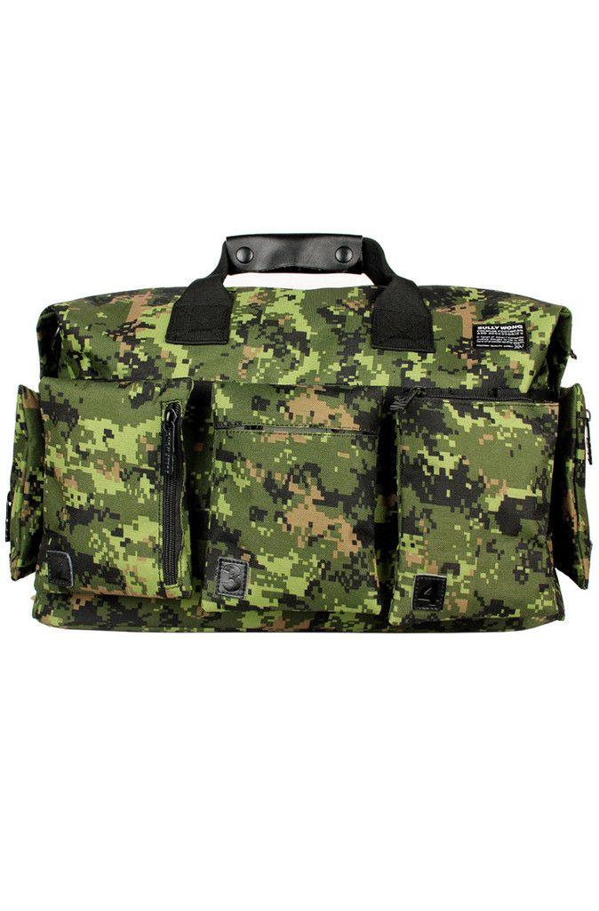 Canadian Armed Forces Inspired Digi. Camo Series - Tekin Duffle