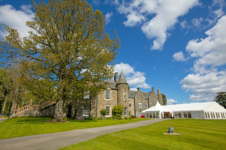 Meldrum House captured on our last visit there in the sunshine. Aberdeen wedding photography by Rubislaw Studio. www.rubislaw.com #aberdeenwedding #aberdeenweddingphotographer #aberdeenweddingphotographers #aberdeenweddingphotography #scottishweddingphotographer #meldrumhousehotel #meldrumhousehotelwedding