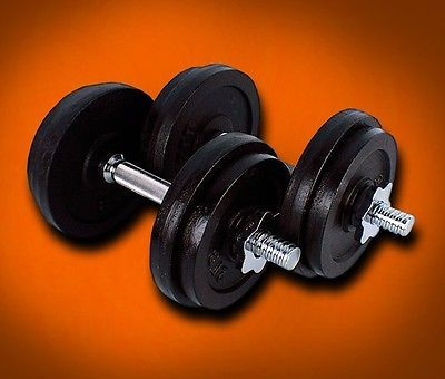 New One Dumbbell Plate (25Lbs X 2PCS) 50 Lbs Adjustable Weight Dumbbells Set Kit