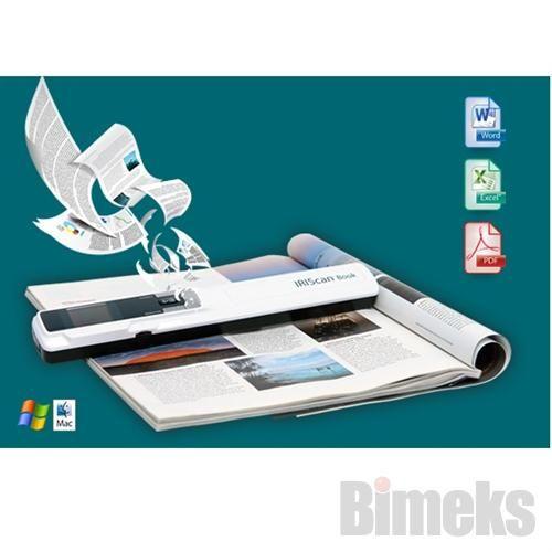 IRIS IRIScan Book 3 Mobil El Tarayıcı + 2GB Micro SD Kart Adaptörlü Fiyatı ve Özellikleri | Bimeks