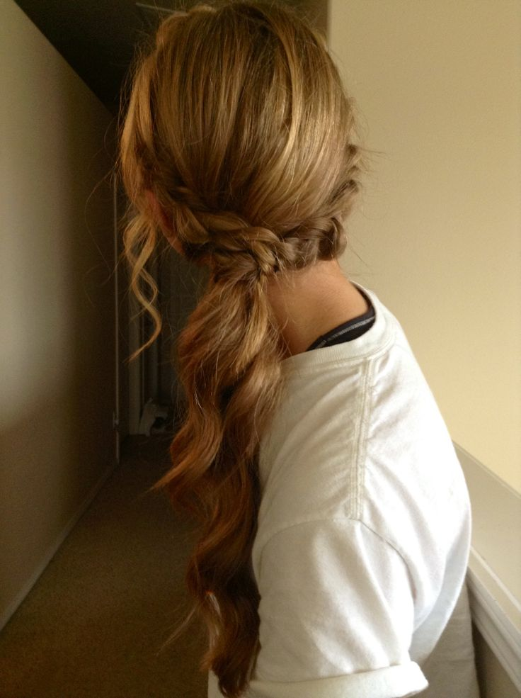 Homecoming/Prom Ponytail