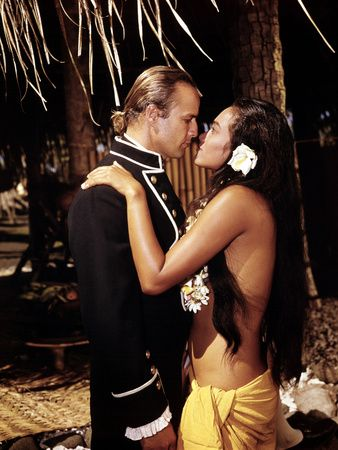 ... Movie Marlon Brando - Mutiny On The Bounty Marlon Brando Tarita 1962