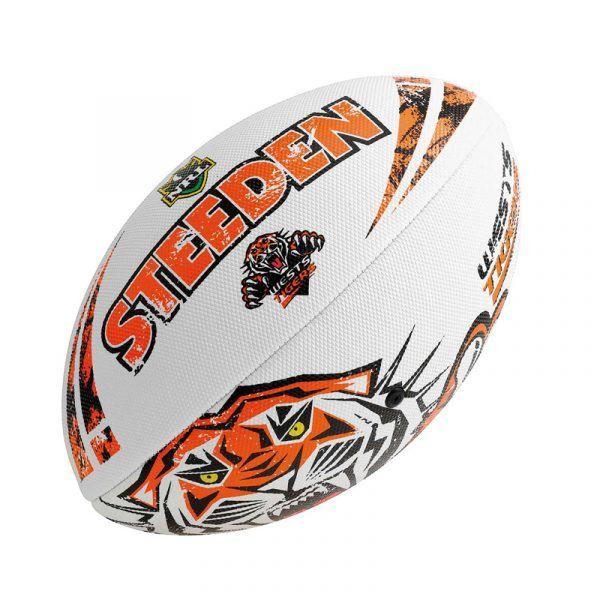 Ball S4 NRL Tigers Beach https://ballsdirect.com/