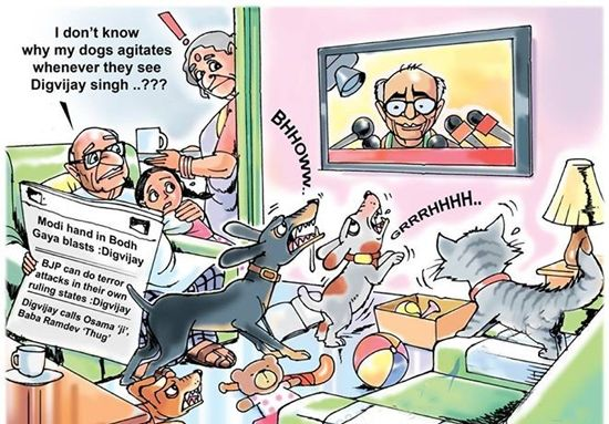 Digvijay Singh Congress's foot-in-mouth faithful