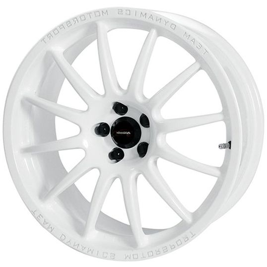 TEAM DYNAMICS PRO RACE 1.2 WHITE alloy wheels with stunning look for 4 studd wheels in WHITE finish with 15 inch rim size