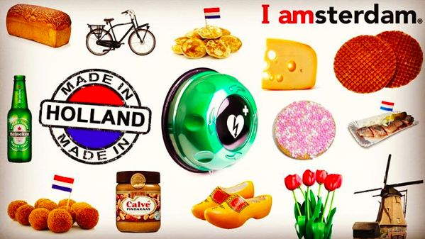 Collage Made in Holland