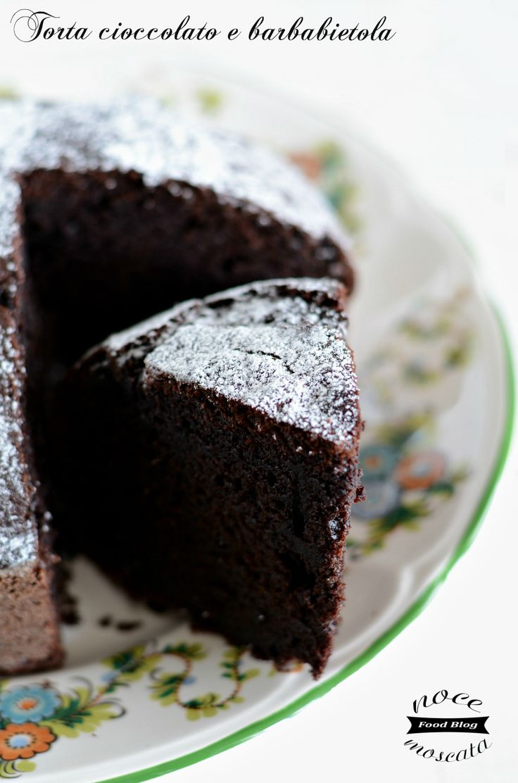 Torta cioccolato e barbabietola rossa