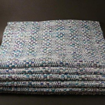 Placemats 100% cotton. Machine wash and dry. Many colors available.