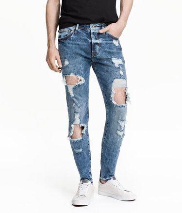 Skinny Low Trashed Jeans #ShoppingIS shoppingis.me