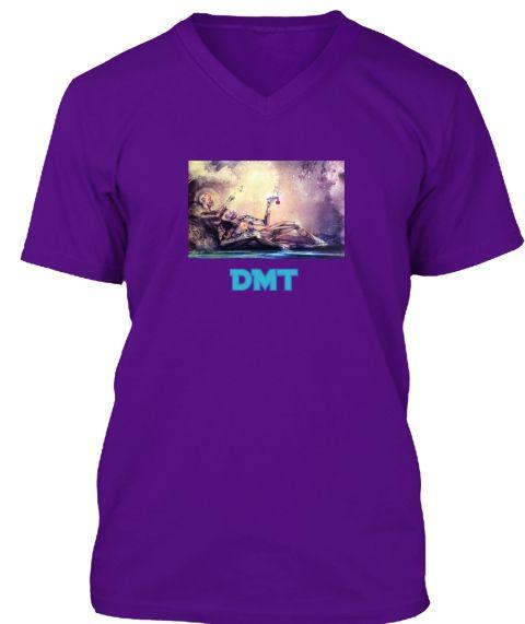 Dmt Team Purple T-Shirt Front