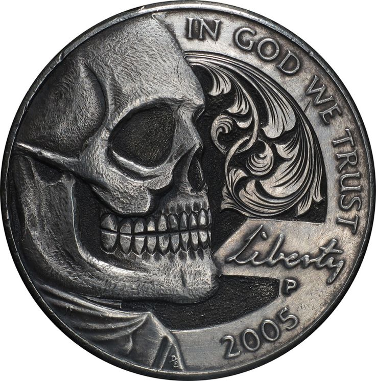 Remarkable Hobo Nickels Carved from Clad Coins by Paolo Curcio