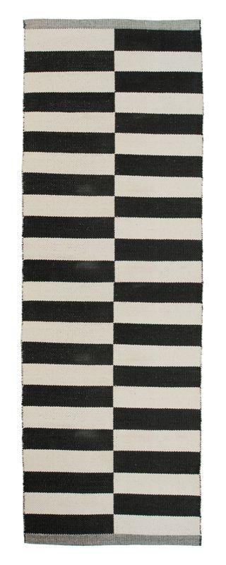 Aspegren-rug-lines-black 100% www.aspegren.dk
