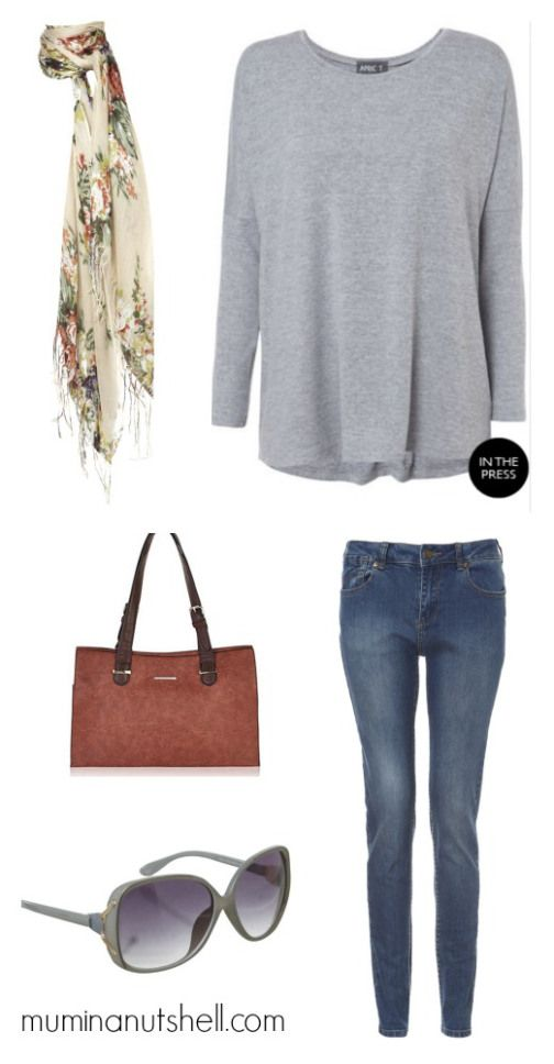 Style inspiration for a busy mum in grey for autumn, winter and spring