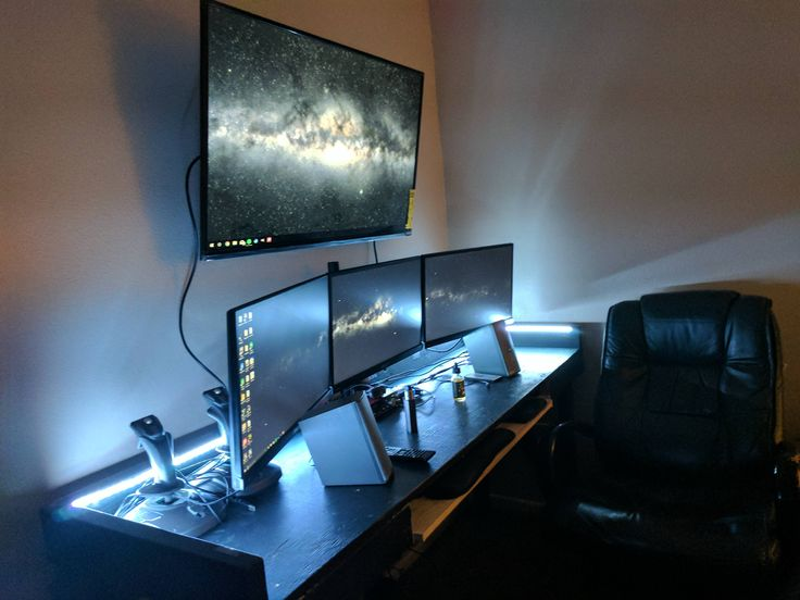 Moved into my new apartment finally set up my new station for Apartment setup ideas