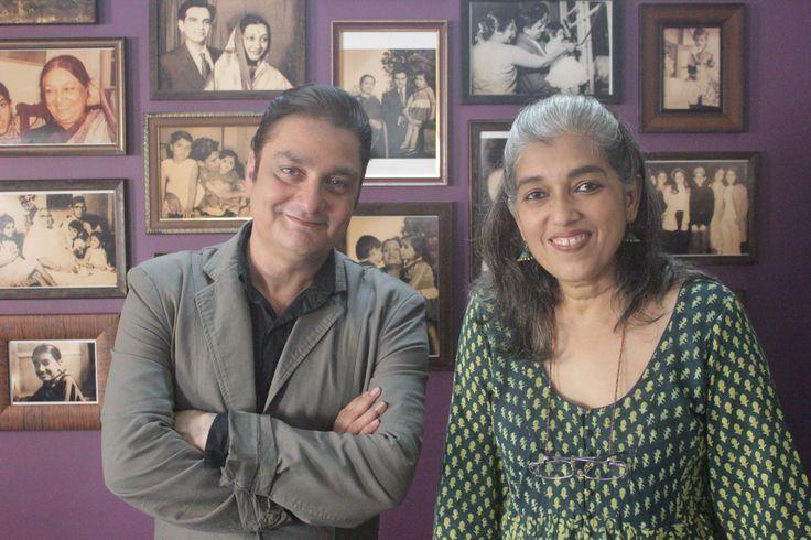 Ratna Pathak on the 7th episode of Har Ghar Kucch Kehta Hai.