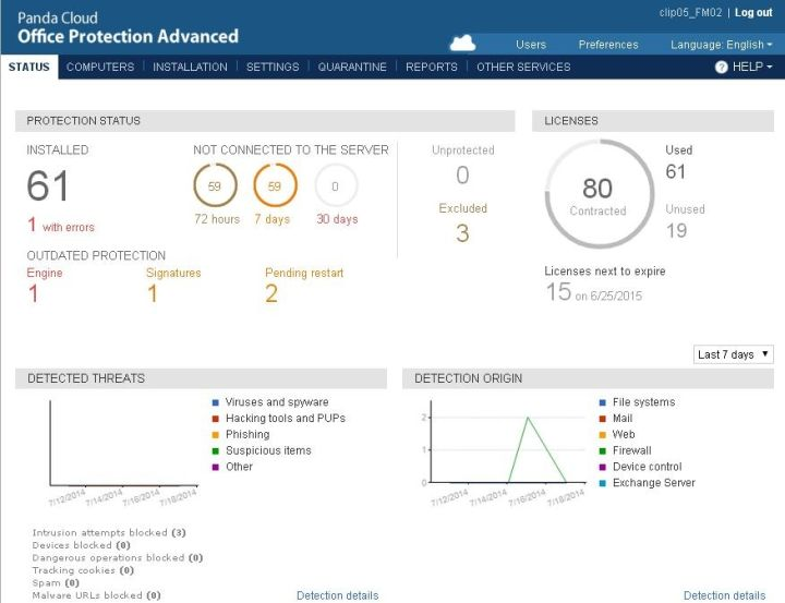 Panda Security launcht Version 7.0 von Panda Cloud Office Protection