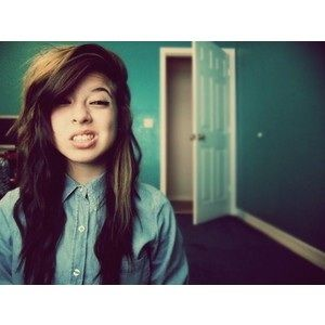Cute Emo Hairstyles For Teenage Girls Best Medium Hairstyle We