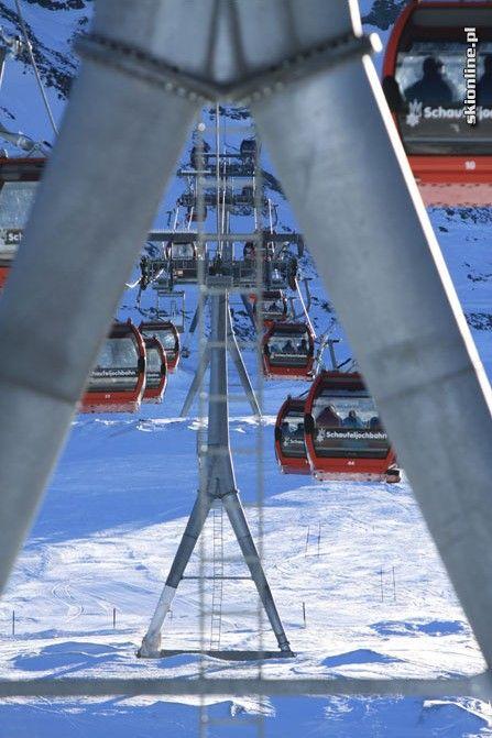 Listopadowe narty na lodowcu Stubai