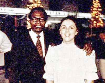 The boy was brought by his mother, a beautiful white woman, Ann Dunham, who was married to Lolo Soetoro, a manager at Pertamina. Description from mpcdot.com. I searched for this on bing.com/images