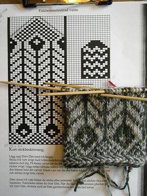 Картинки по запросу fair isle mittens pattern free