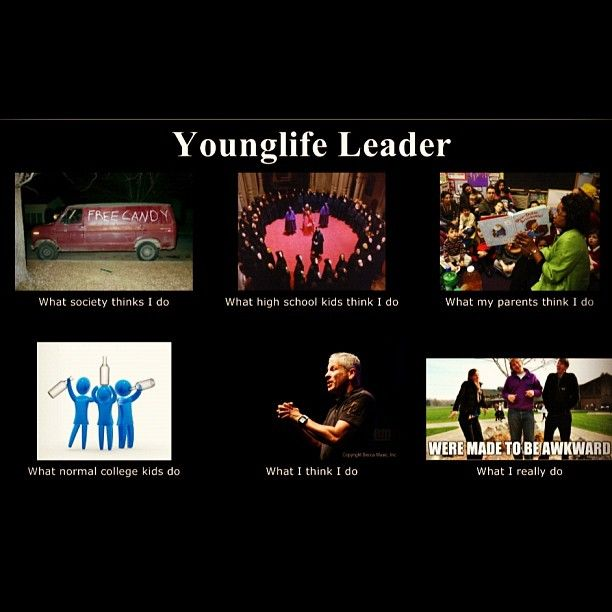 #YOUNGLIFE!!!!!! What young life leaders REALLY do..